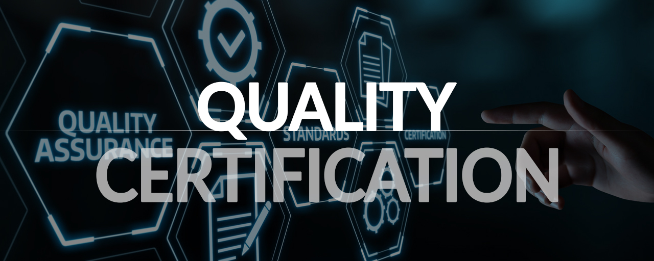 Quality Certification header