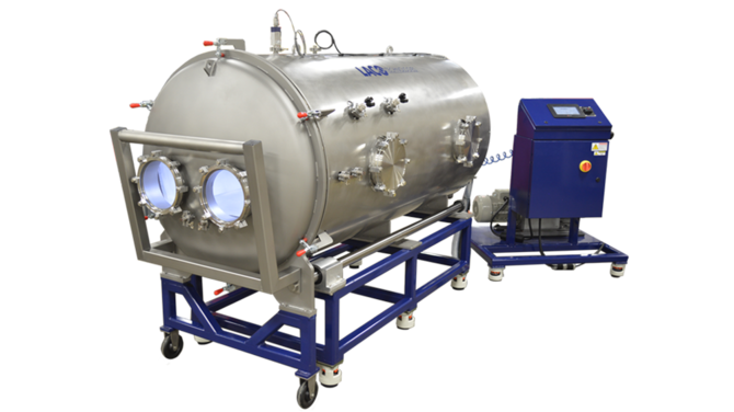 Custom Vacuum System for testing large transportation components