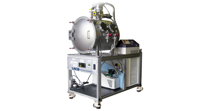 Space Simulation Thermal Vacuum System for Satellite Components